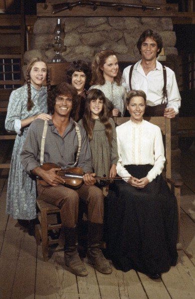"""Cast members of the 1974 television series """"Little House on the Prairie.""""   Photo: Getty Images"""