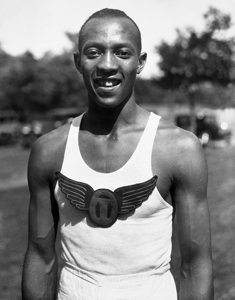 A shot of American athlete Jesse Owens | Source: Getty Images