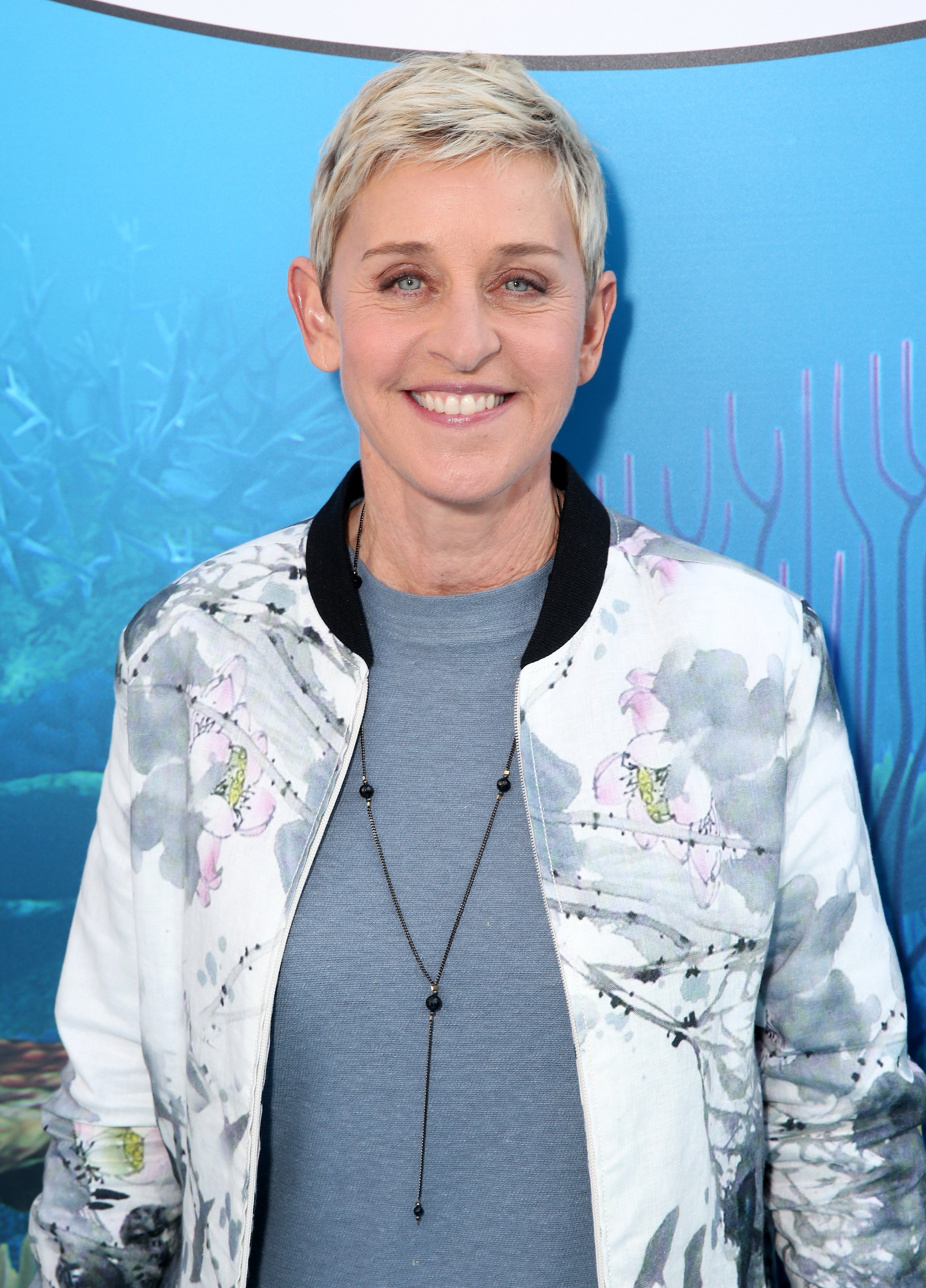 """Ellen DeGeneres attends the world premiere of """"Finding Dory"""" on June 8, 2016, in Hollywood, California. 