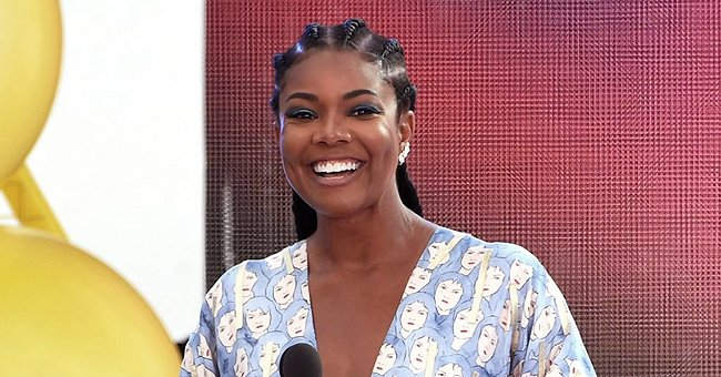 Gabrielle Union's Daughter Kaavia Melts Hearts Showing Her Contemptuous Look in  a Pink Outfit