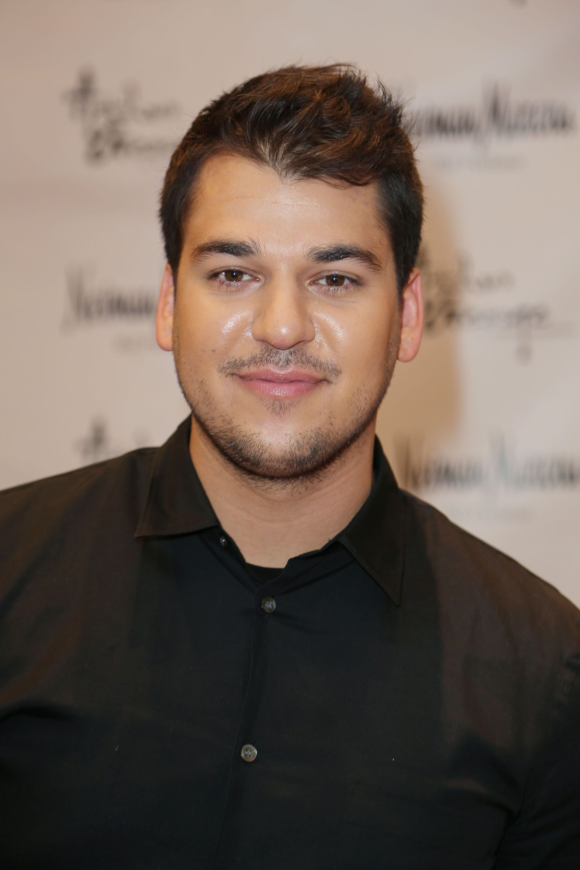 Rob Kardashian during his Arthur George Socks Collection presentation at Neiman Marcus Bal Harbour at Neiman Marcus on December 10, 2012 in Miami Beach, Florida. | Source: Getty Images