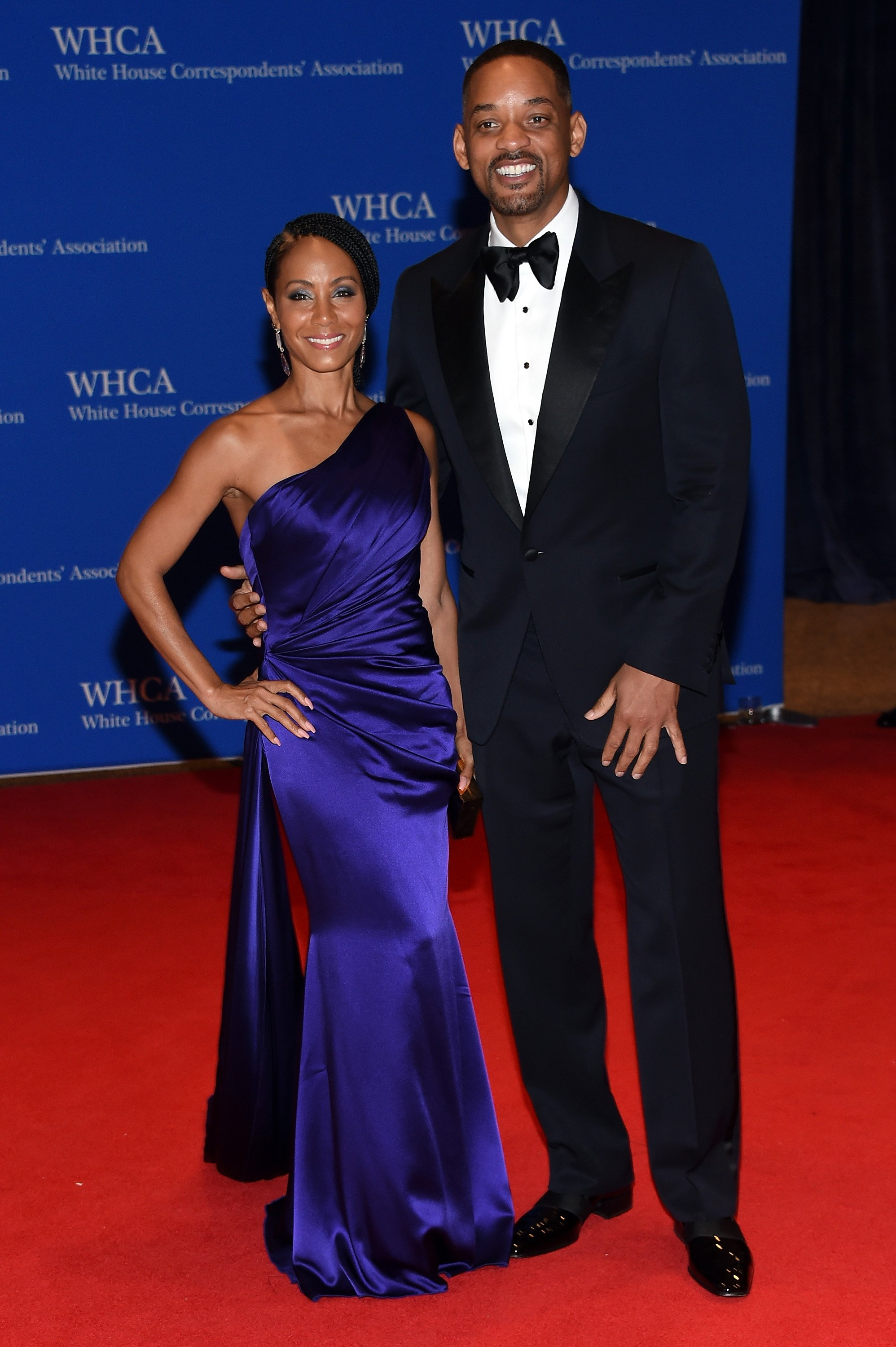 Jada Pinkett Smith & Will Smith at the 102nd White House Correspondents' Association Dinner on April 30, 2016 in Washington, DC. | Photo: Getty Images
