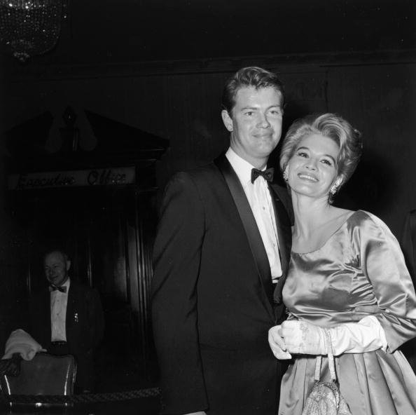 Troy Donahue and Angie Dickinson on March 8, 1960 in Hollywood, California | Source: Getty Images
