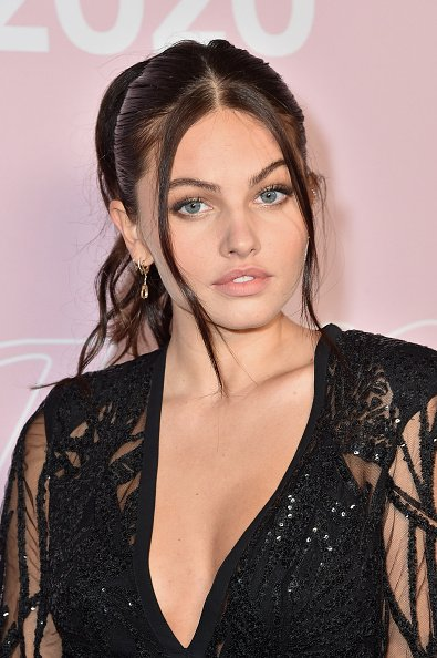Thylane Blondeau on September 29, 2020 in Paris, France. | Photo: Getty Images