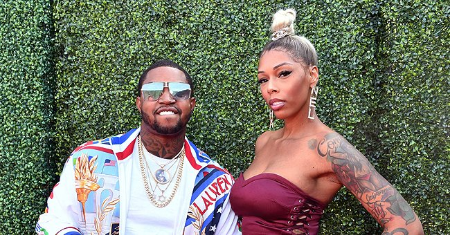 Check Out Lil Scrappy's 8-Month-Old Daughter Xylo Posing with Her Mom Bambi in Lakers Uniform