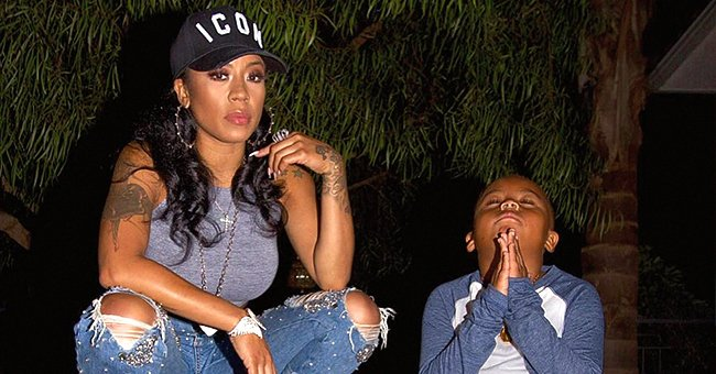 Keyshia Cole Shares Hilarious Parenting Moment with Bored Son Daniel Amid COVID-19 Pandemic