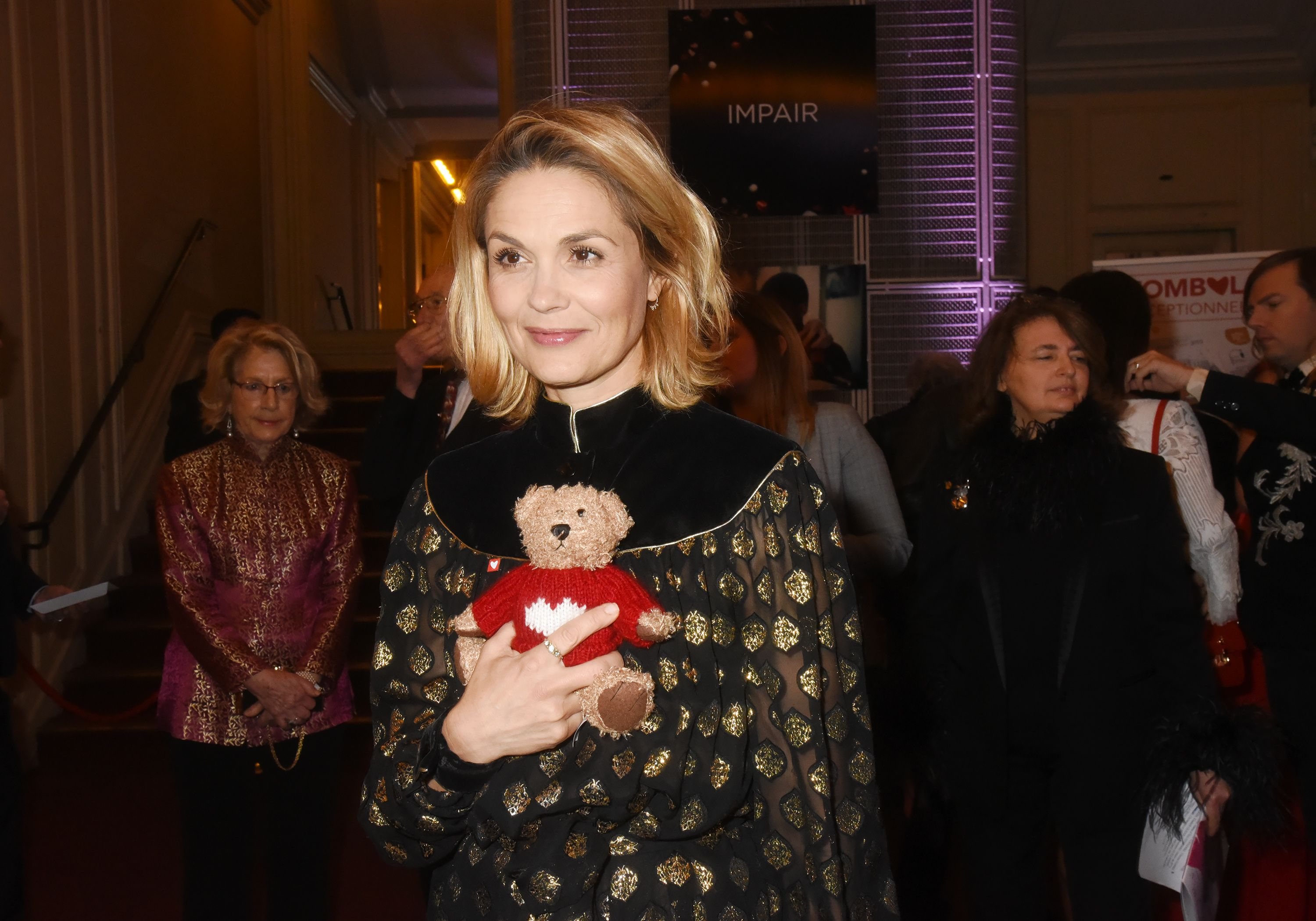 L'actrice Barbara Schulz à la salle Gaveau le 27 janvier 2020 à Paris, France. | Photo : Getty Images