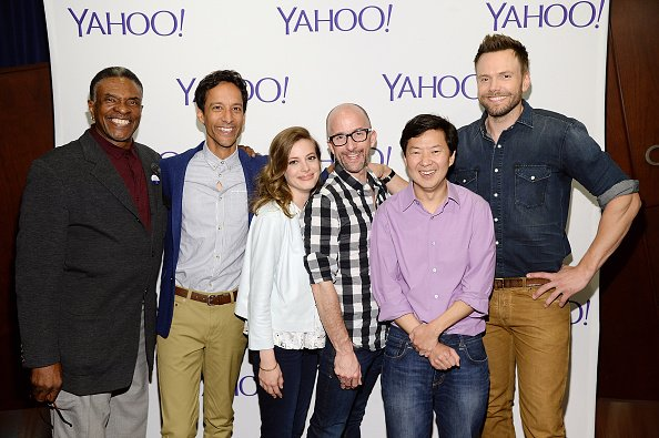 """The casts of """"Community"""" at ArcLight Sherman Oaks on June 2, 2015 in Sherman Oaks, California. 