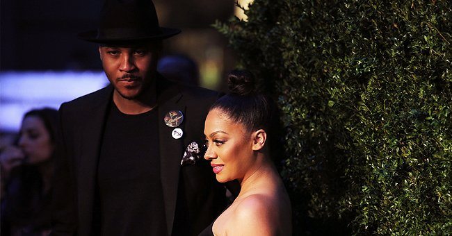 Carmelo Anthony and ex wife, La La Anthony. | Photo: Getty Images