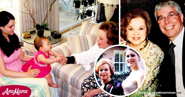 Shirley Temple's granddaughter is all grown up and inherited her adorable smile