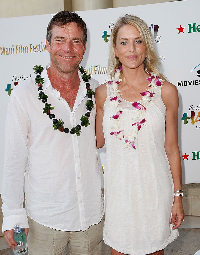 Dennis Quaid and Kimberly Buffington on June 12, 2008 in Maui, Hawaii | Photo: Getty Images