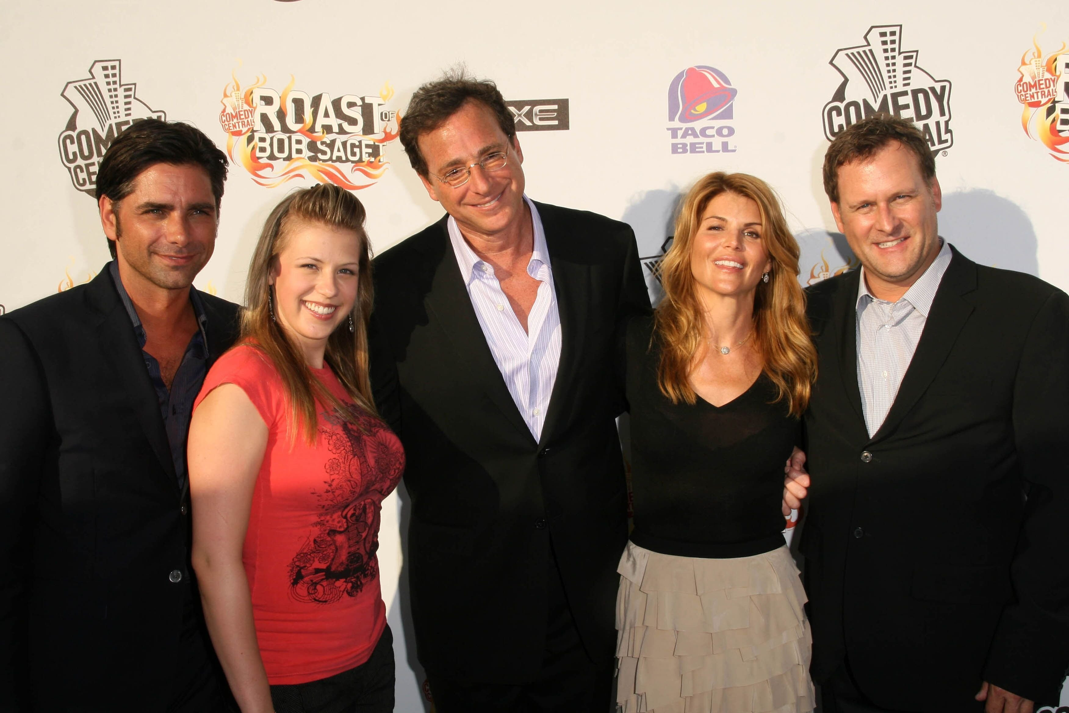 "Cast of ""Full House"" at the ""Comedy Central Roast of Bob Saget"". Warner Bros Studios, Hollywood 