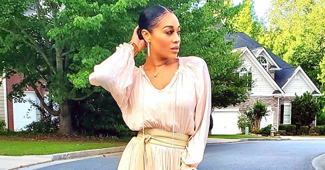 Stevie J's Ex Mimi Faust Slays in Ruffled Dress and White Boots in Recent Photos