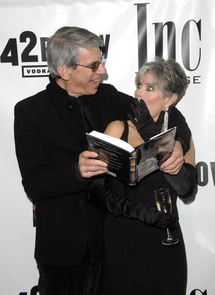Richard Belzer and Harlee McBride at the Time Hotel on October 25, 2008 in New York City | Photo: Getty Images