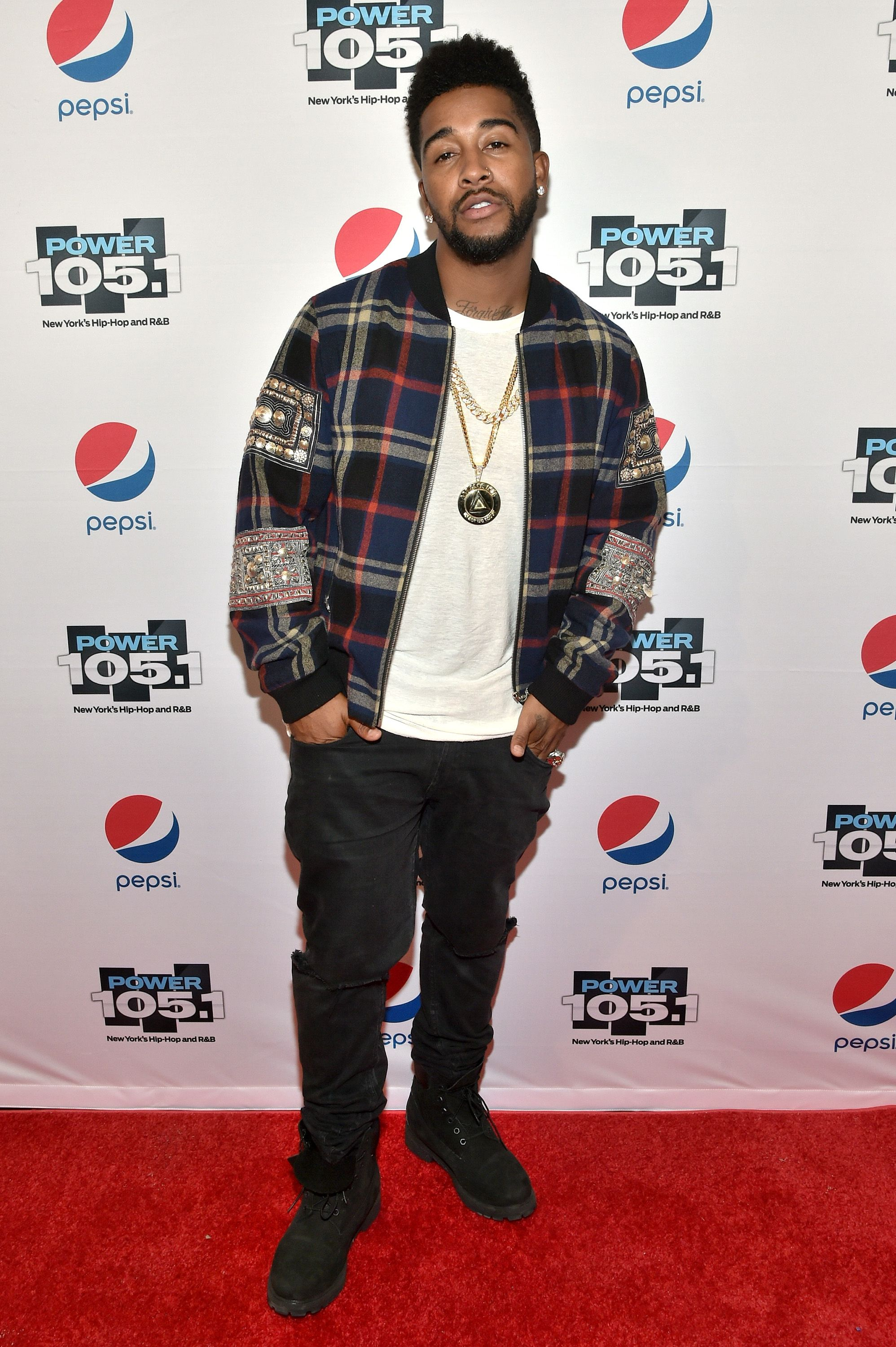 Omarion at Power 105.1''s Powerhouse 2015 on October 22, 2015 in Brooklyn. | Photo: Getty Images