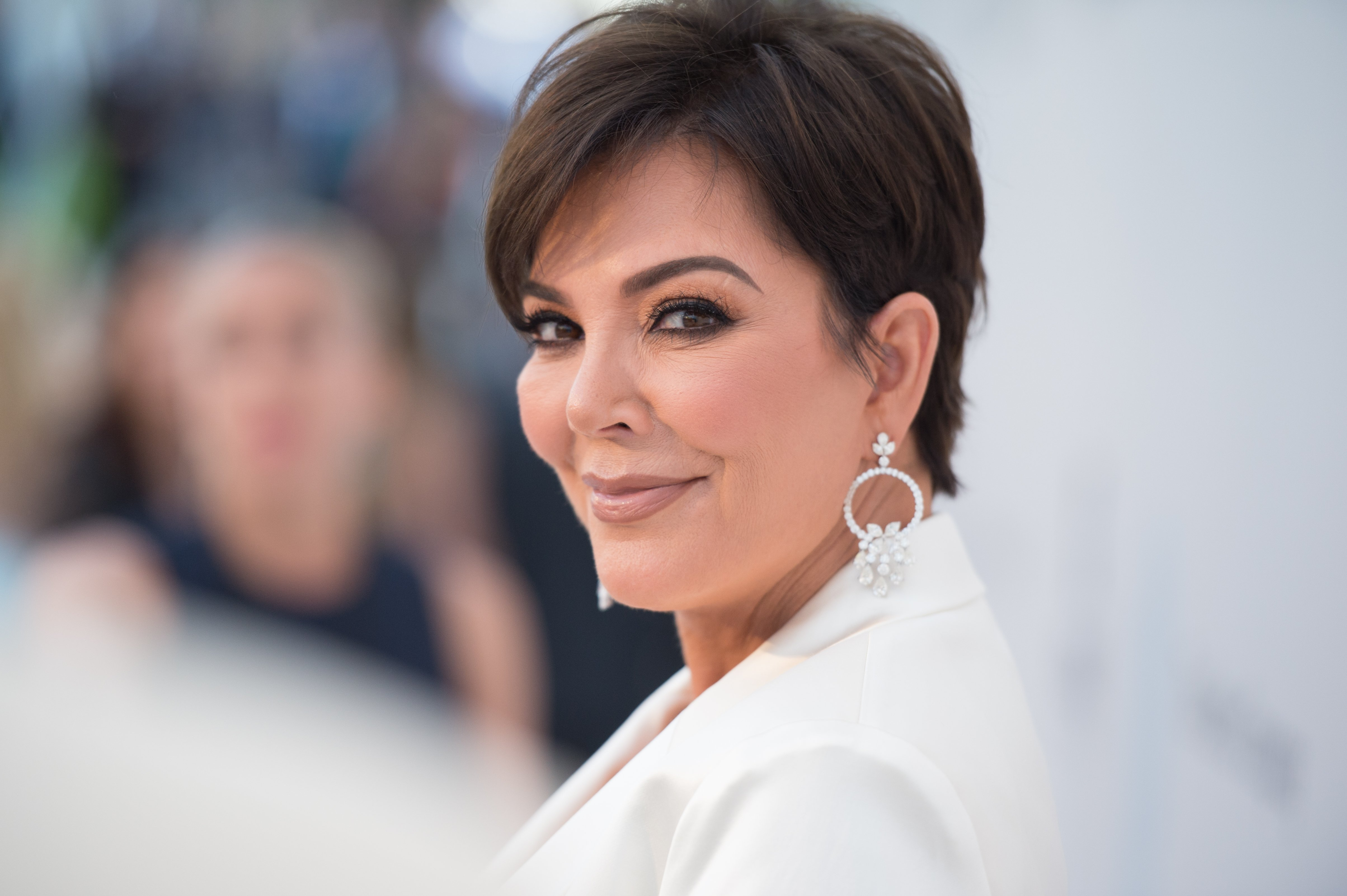 Kris Jenner attending the amfAR Cannes Gala in March 2019. | Photo: Getty images