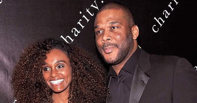 See Tyler Perry's Ex-sweetheart Dazzling in White Cocoa Forest Dress & Circle Glasses among Cactuses