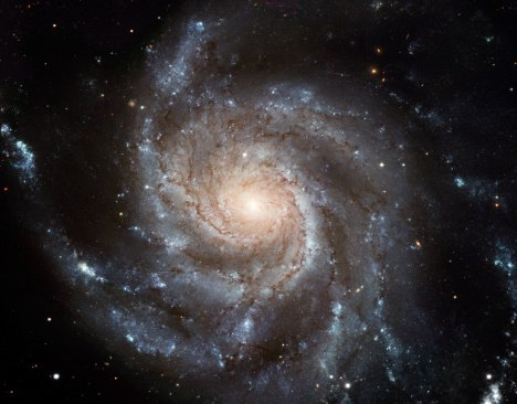A NASA picture of the spiral galaxy | Photo: Getty Images