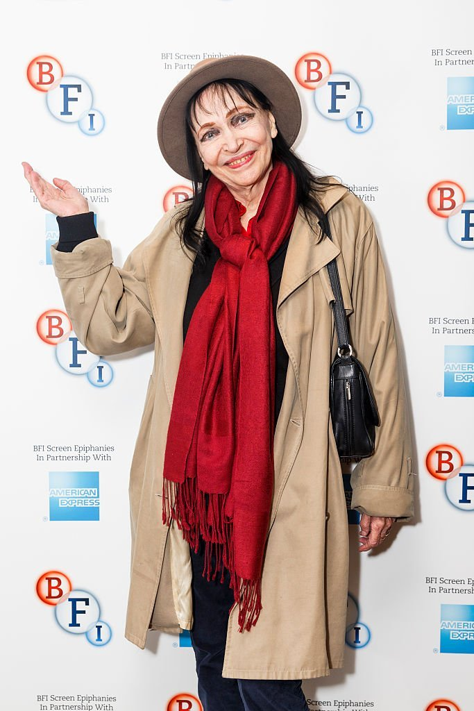 "Anna Karina présente ""Singin 'in the Rain"" dans le cadre de la série BFI Screen Epiphanies à BFI Southbank le 17 janvier 2016 à Londres. 