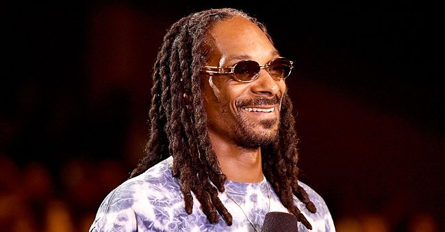 See the Heart-Melting Throwback Pic Snoop Dogg Dedicated to His Wife of 23 Years & 1st Born Son
