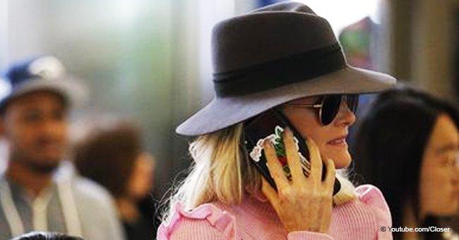 Laeticia Hallyday : un hommage à Johnny est toujours avec elle sur son téléphone