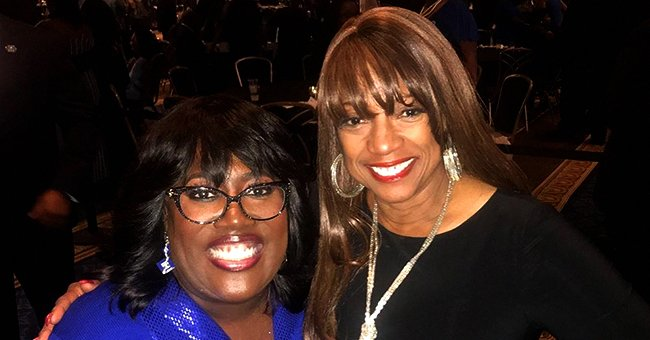 BernNadette Stanis of 'Good Times' and Sheryl Underwood Pose Together in a Photo
