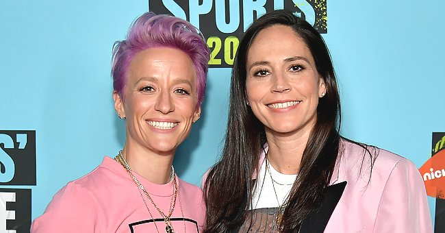 Megan Rapinoe's Girlfriend Sue Sends Her Some Love on Her 35th Birthday with a Funny Pool Video