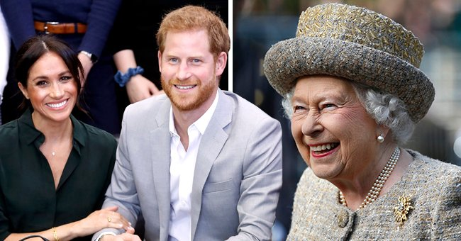 Royal Fans Wonder if Harry & Meghan Will Name Their Daughter in Honor of the Queen's Sweet Nickname