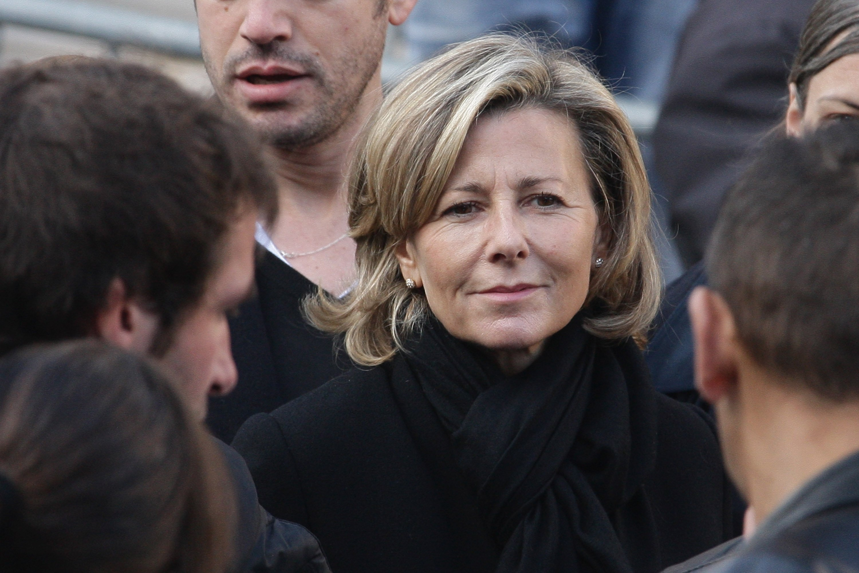 Claire Chazal le 17 octobre 2008 à Bougival, France | Photo : GettyImages