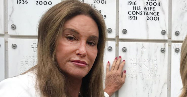 Caitlyn Jenner Visits Her World War II Veteran Father's Gravesite in a New Video