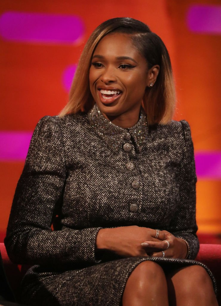 Jennifer Hudson during the filming for the Graham Norton Show at BBC Studioworks 6 Television Centre, December 12, 2019 | Photo: Getty Images