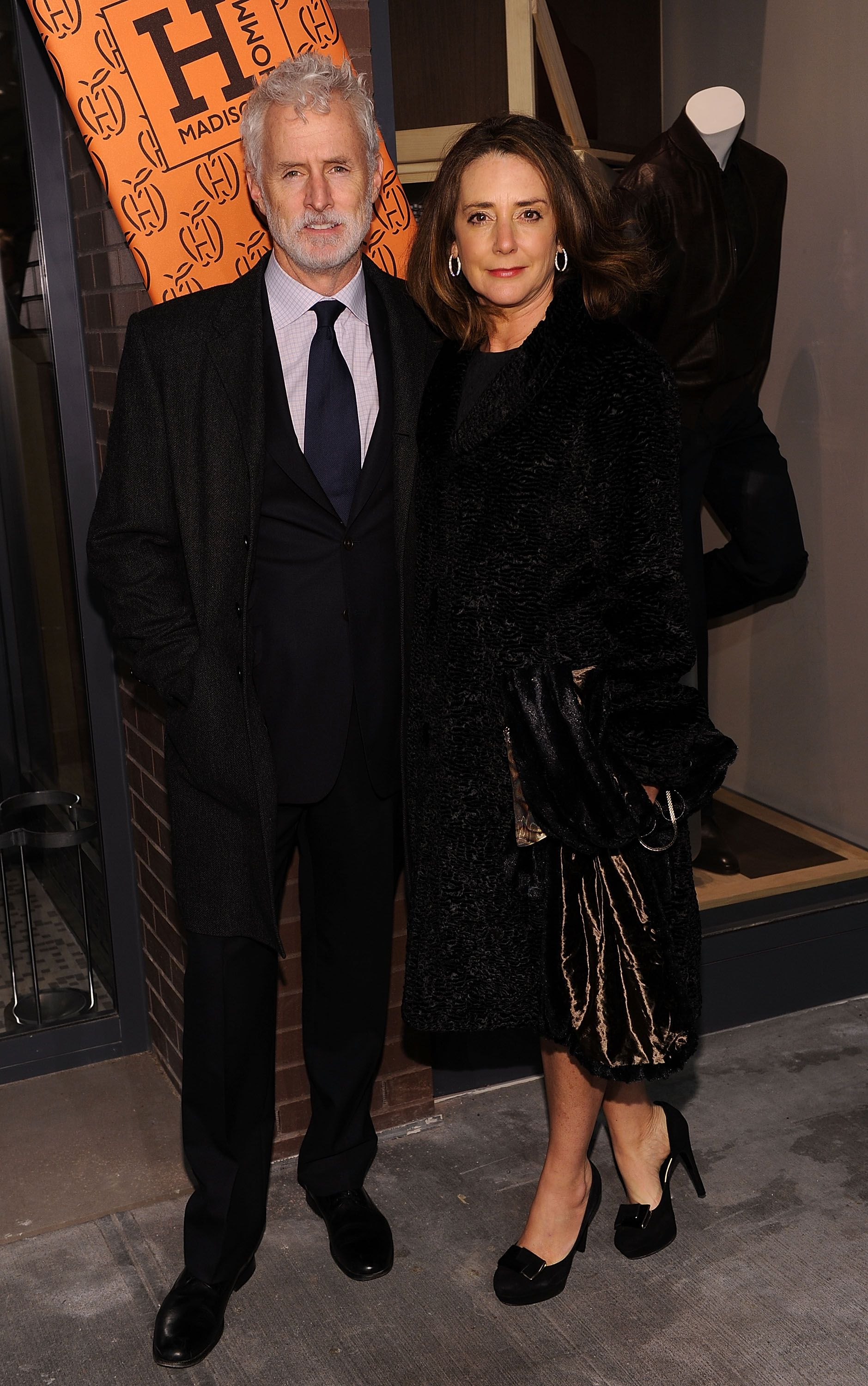 John Slattery and Talia Balsam at the opening of the first Hermes Men's Store in 2010 in New York City | Source: Getty Images