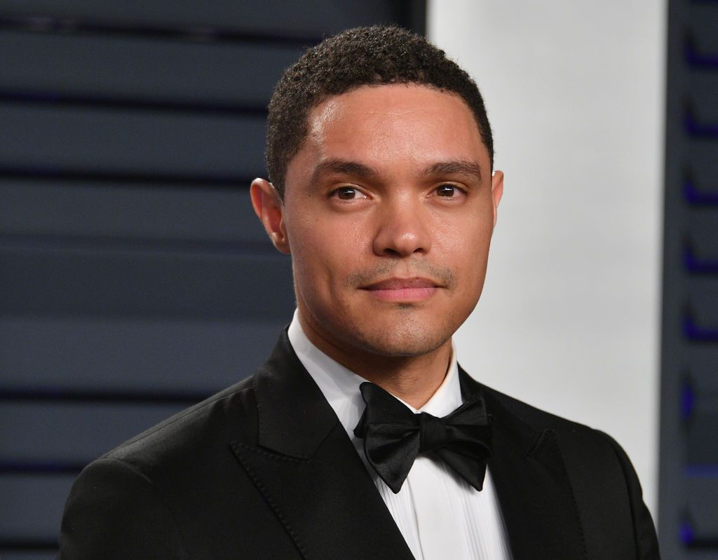 Trevor Noah at the 2019 Vanity Fair Oscar Party at Wallis Annenberg Center for the Performing Arts on February 24, 2019 in Beverly Hills, California. | Source: Getty Images
