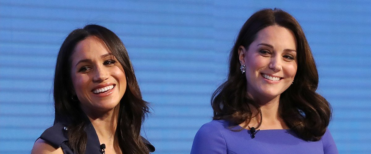 Meghan Markle and Kate Middleton at the first annual Royal Foundation Forum held on February 28, 2018 in London, England.  | Photo: Getty Images