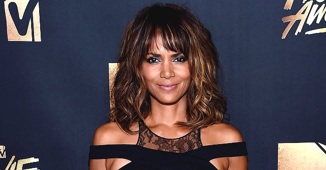 Halle Berry Moves So Sensually While Dancing in Her Underwear on a Sofa