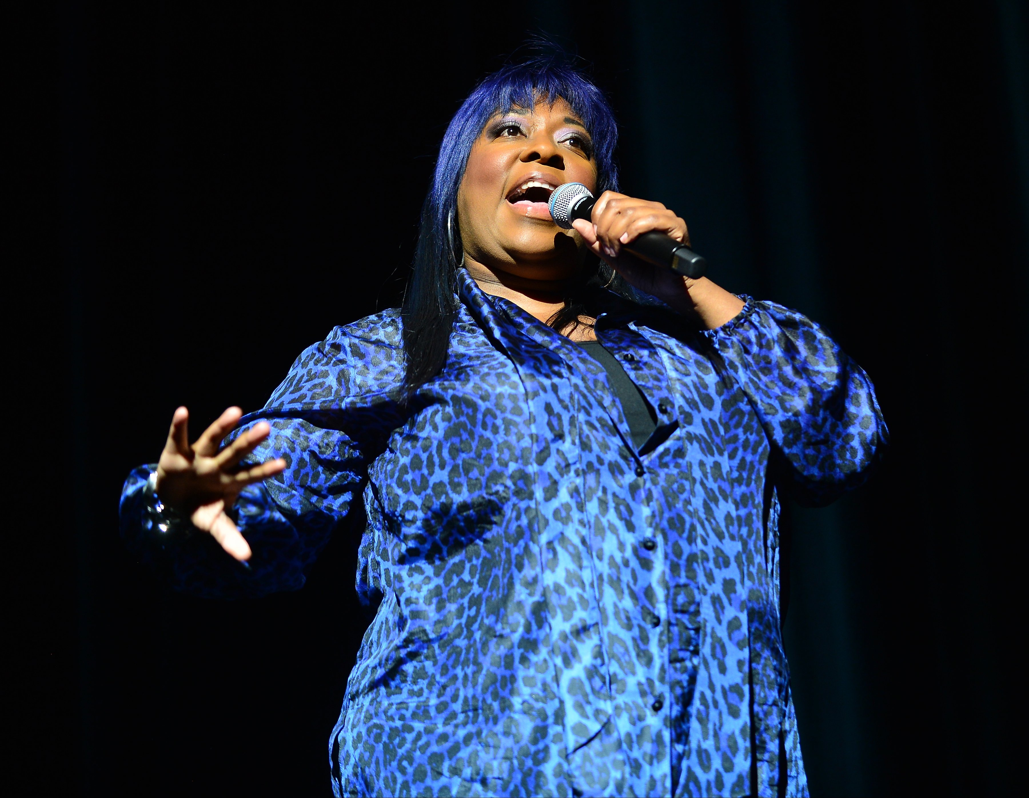 Comedian Loni Love performs during the 8th Annual Memorial Day Weekend Comedy Festival at James L Knight Center | Photo: Getty Images
