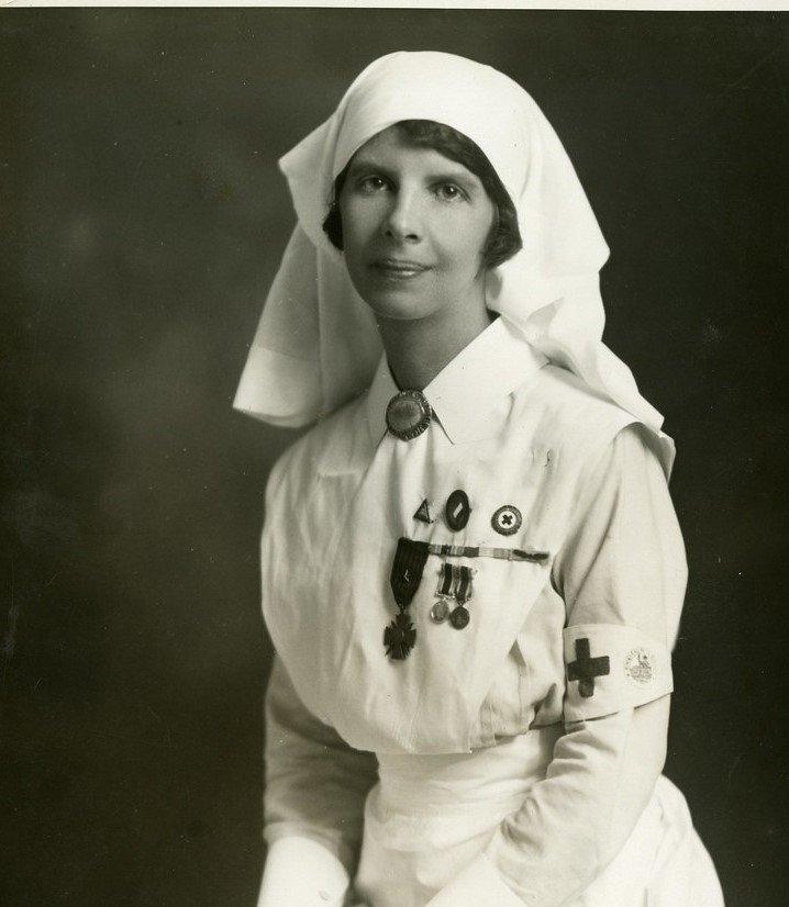Retrato de una enfermera. | Imagen: Flickr