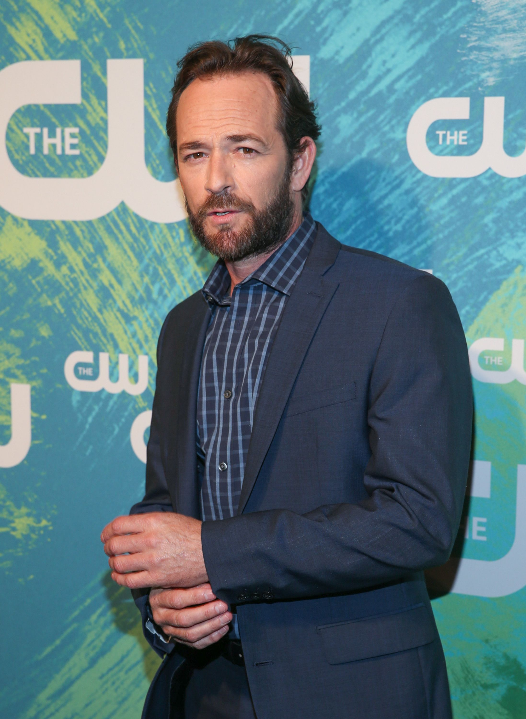 "Luke Perry of the series ""Riverdale"" at The CW Network's 2016 New York Upfront Presentation at The London Hotel on May 19, 2016 