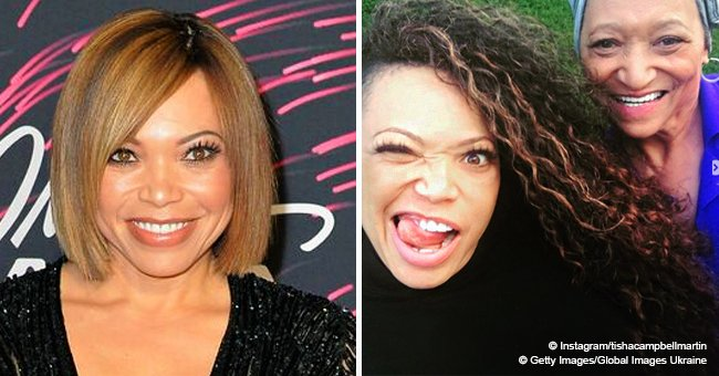 Tisha Campbell shares rare picture with her mother who is a gospel singer and vocal coach