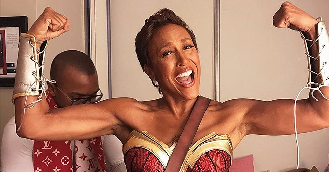 Robin Roberts Impresses Fans Flaunting Toned Arms in a Photo Wearing Her Halloween Costume