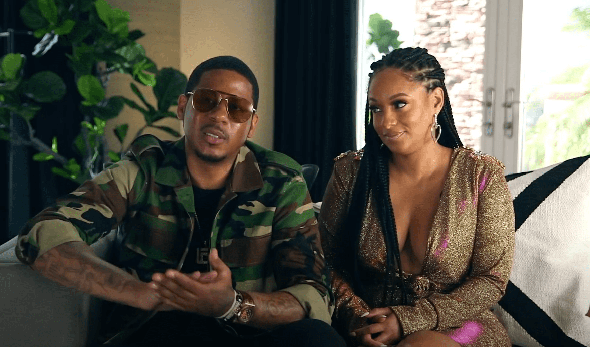"Tahiry Jose and Vado talk about their relationship issues in a ""Marriage Boot Camp"" teaser released on June 18, 2020. 