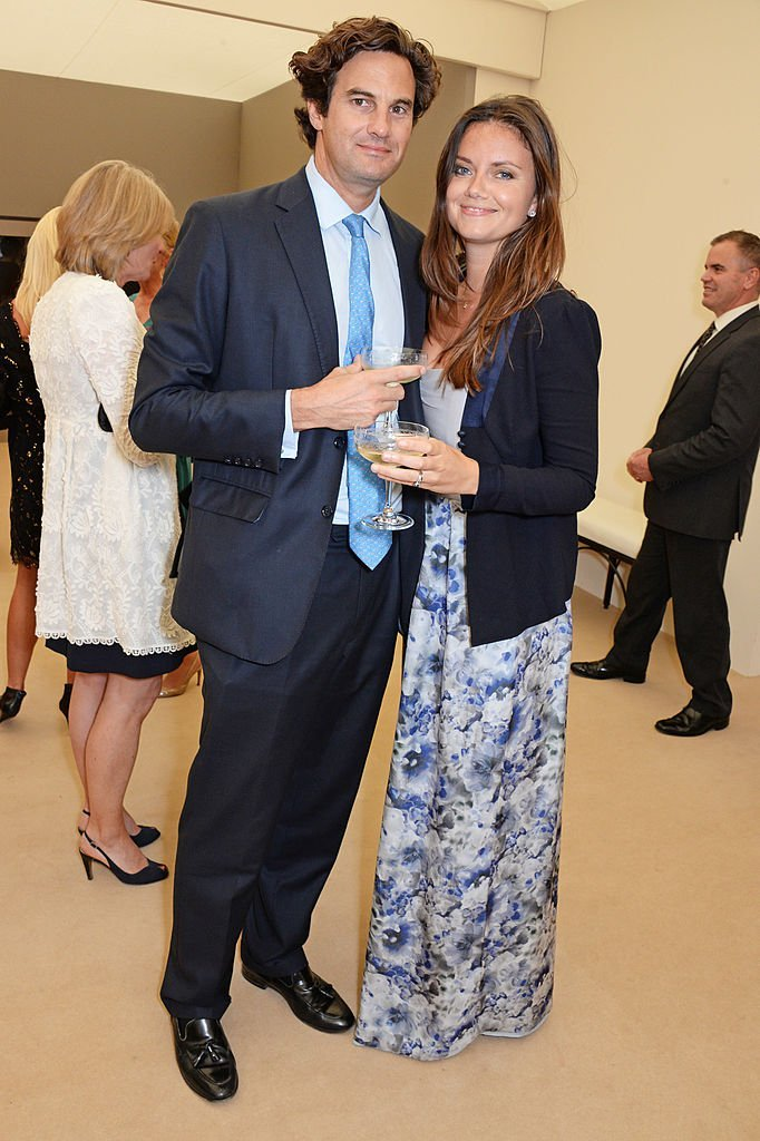 Catherine Middleton's ex-boyfriend Rupert Finch and his wife Natasha Rufus Isaacs on June 10, 2014 in London, England | Photo: Getty Images
