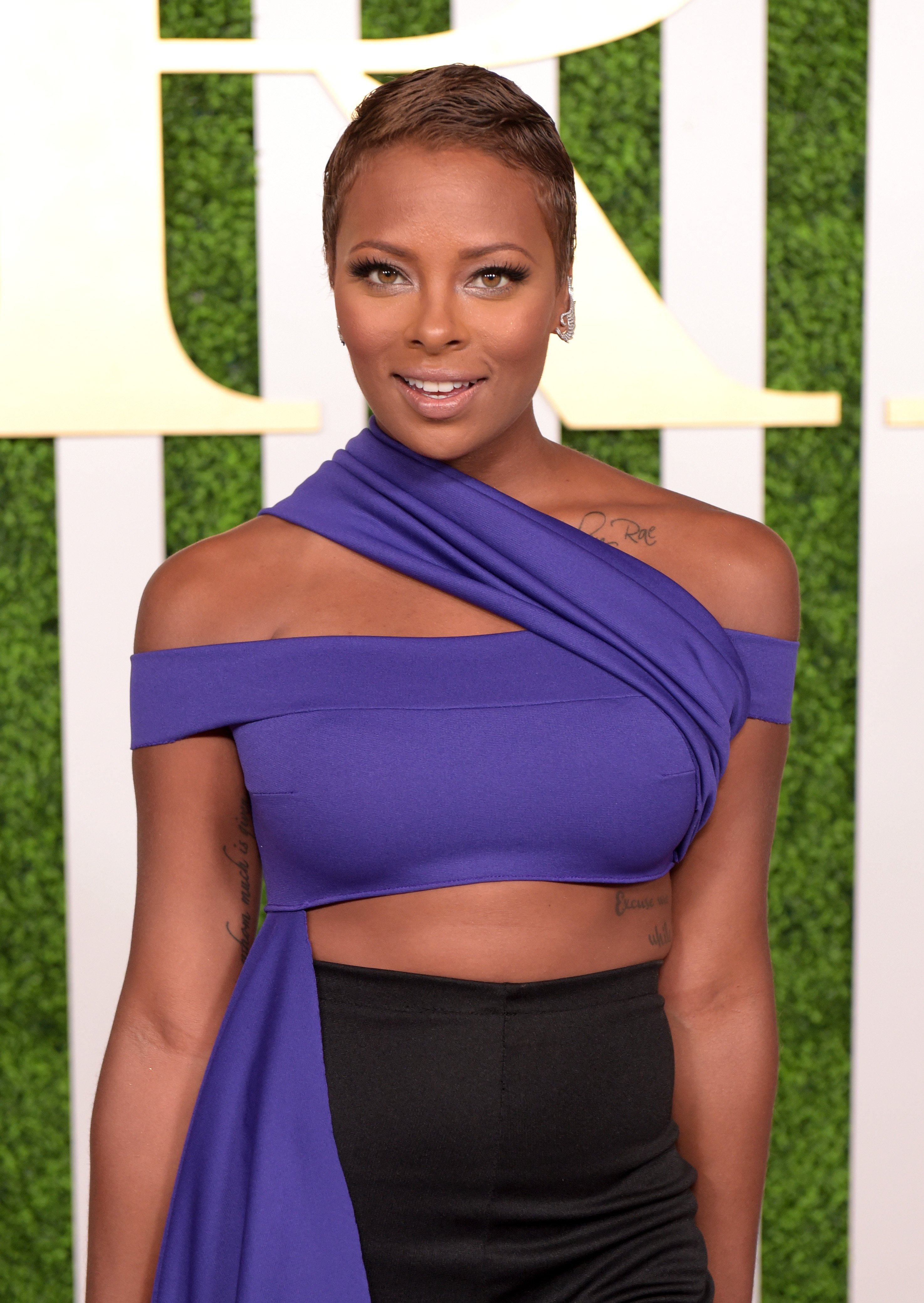 Eva Marcille at the 2015 BET Awards Debra Lee Pre-Dinner at Sunset Tower Hotel on June 24, 2015, Los Angeles, California. | Source: Getty Images