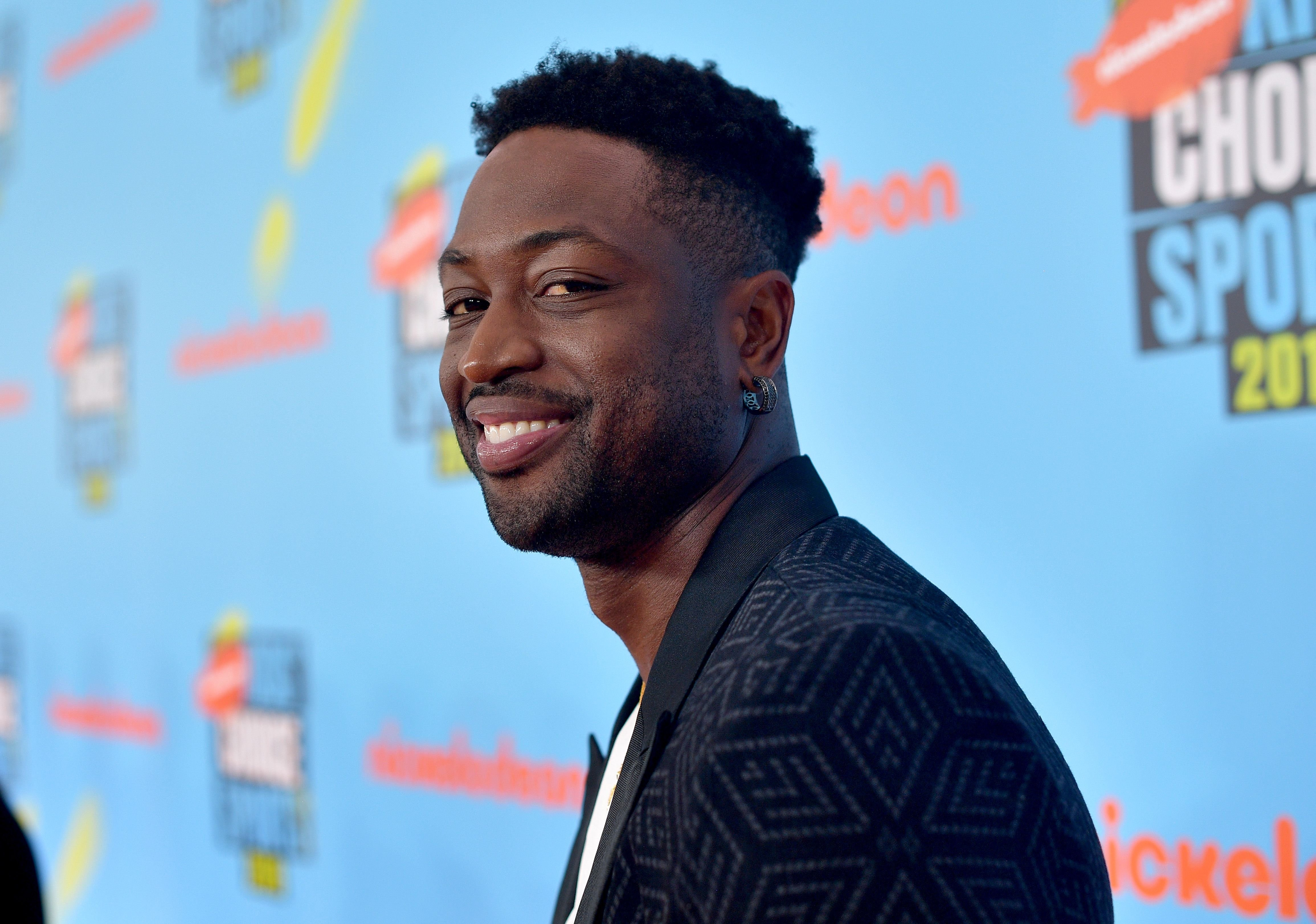 Dwyane Wade during the Nickelodeon Kids' Choice Sports 2019 at Barker Hangar on July 11, 2019 in Santa Monica, California.   Source: Getty Images