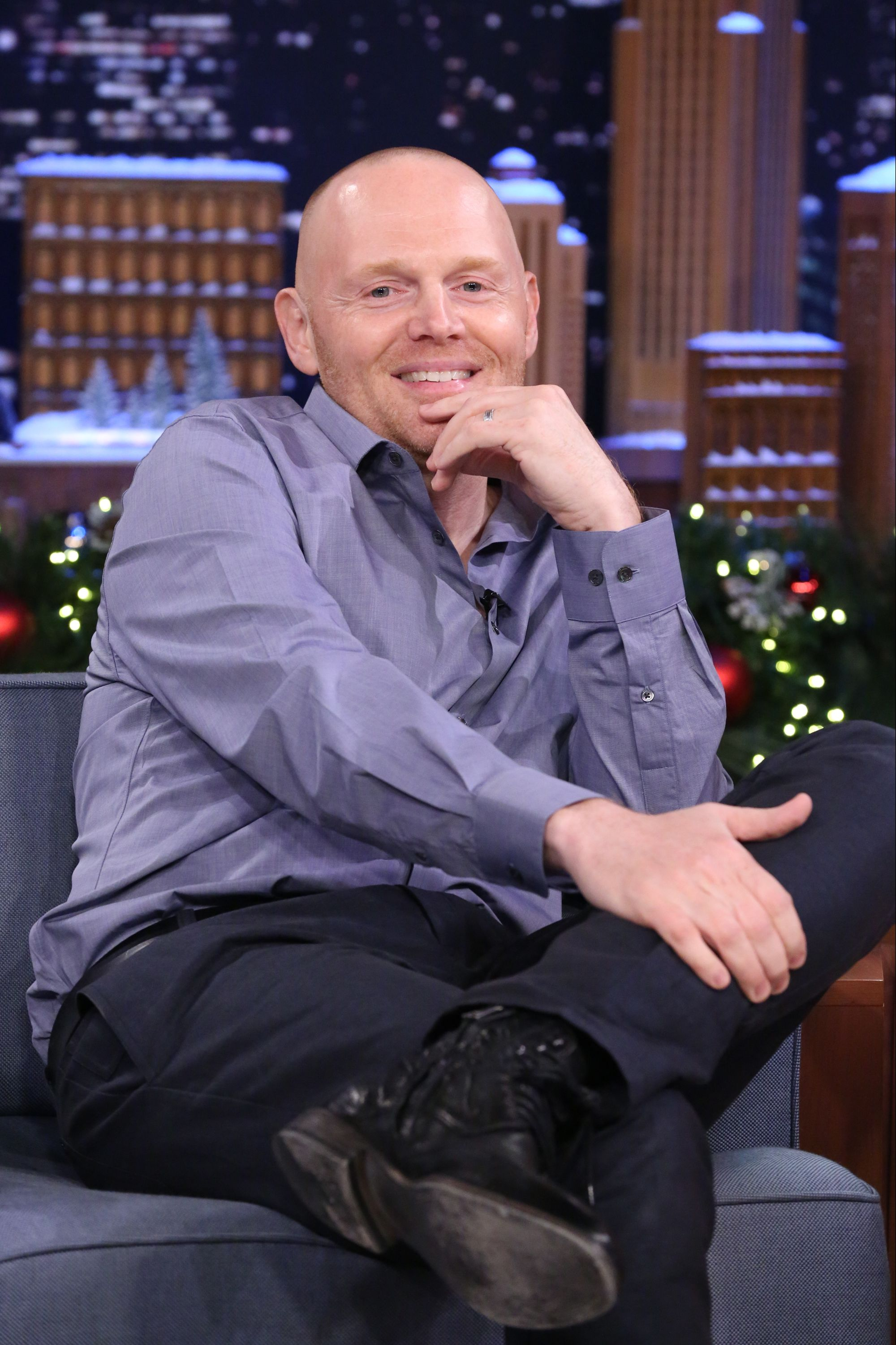 """Comedian Bill Burr during a guest appearance on """"The Tonight Show Starring Jimmy Fallon 