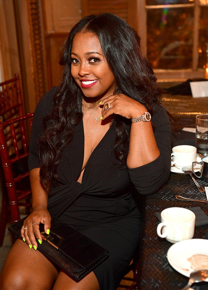 """Keshia Knight Pulliam at """"A Toast Honoring Larry Morrow"""" at Emeril's Delmonico on July 5, 2019 