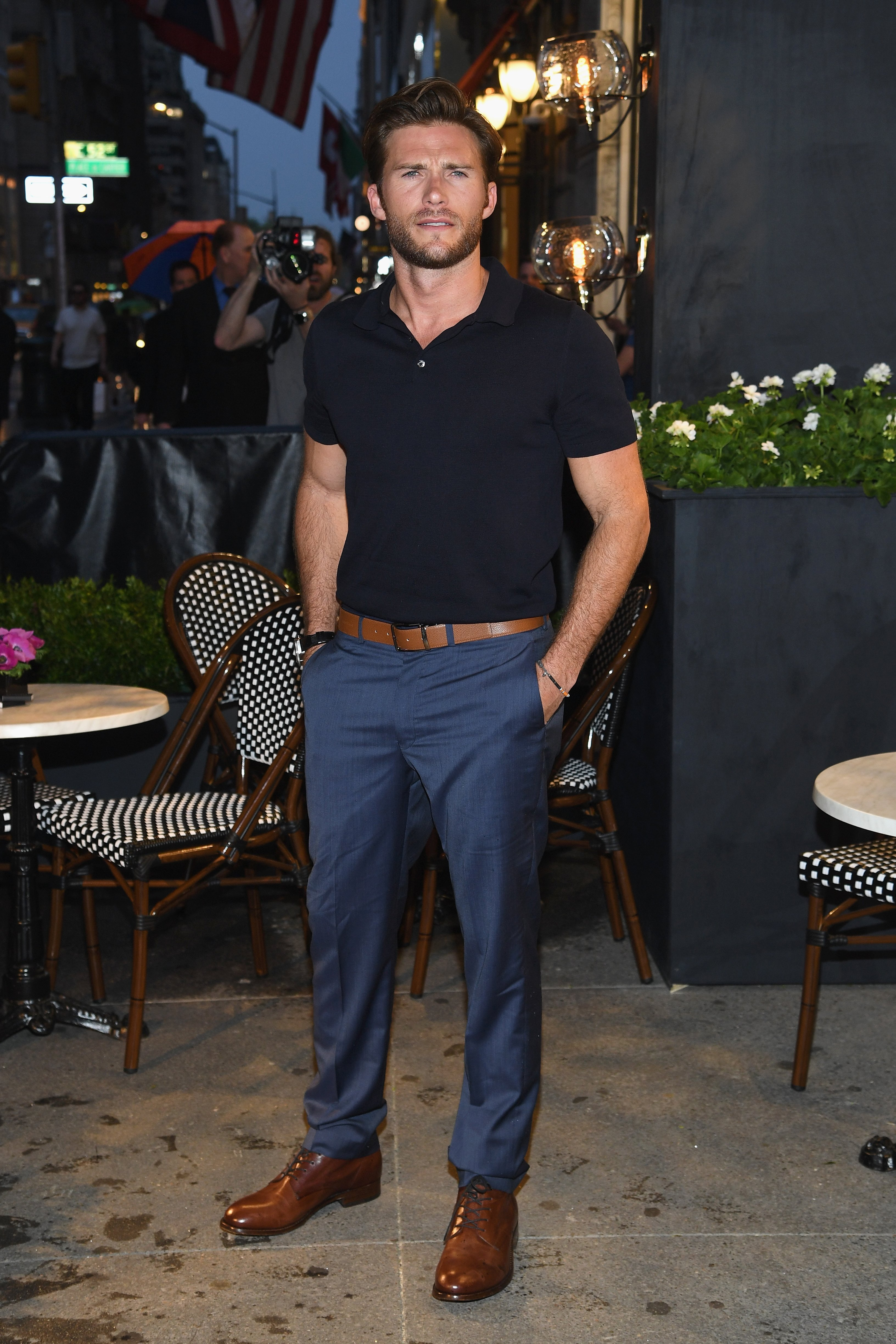 Scott Eastwood attends the Longchamp Opening at Longchamp Fifth Avenue on May 3, 2018 in New York City | Photo: Getty Images