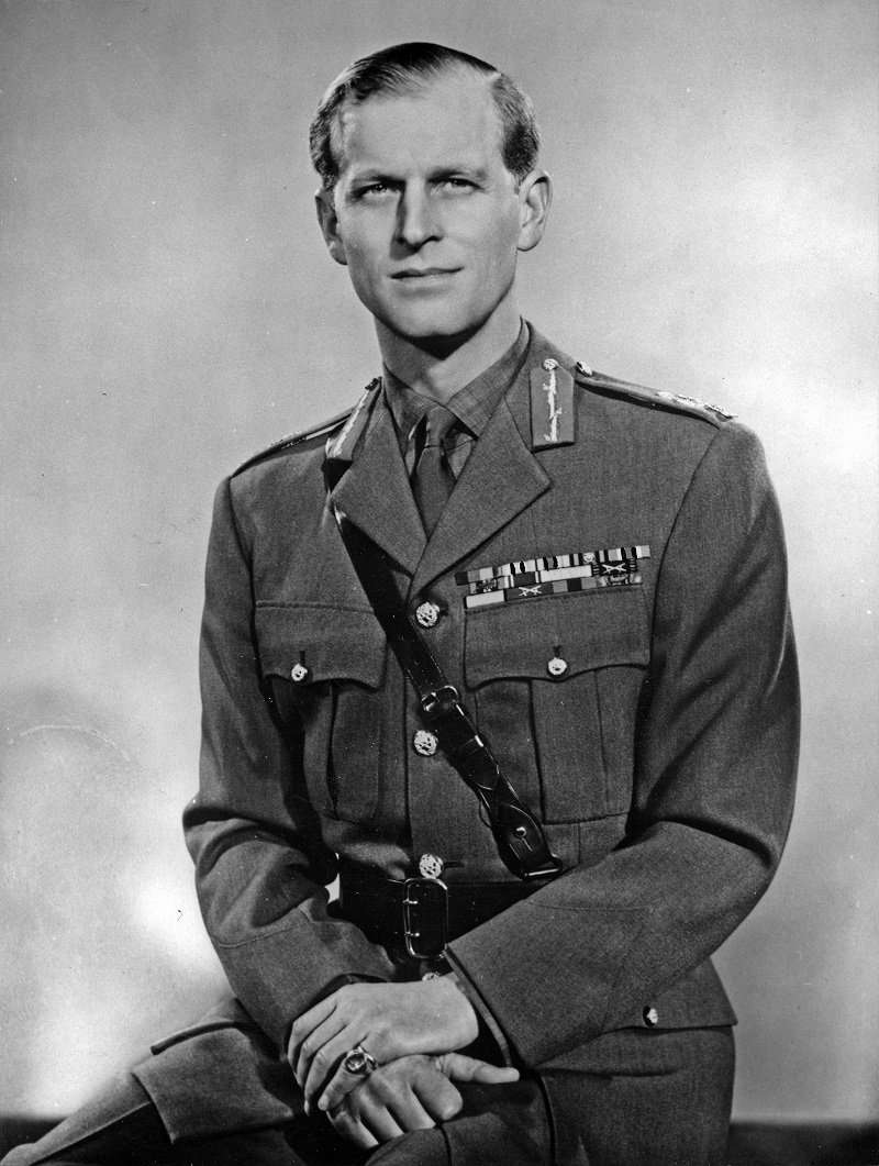 Prince Philip wearing his uniform of Field Marshal of the British Army, 1953 | Photo: Getty Images
