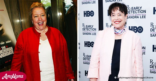 Kathy Bates looks barely recognizable with a new hairstyle after a whopping 60-pound weight loss
