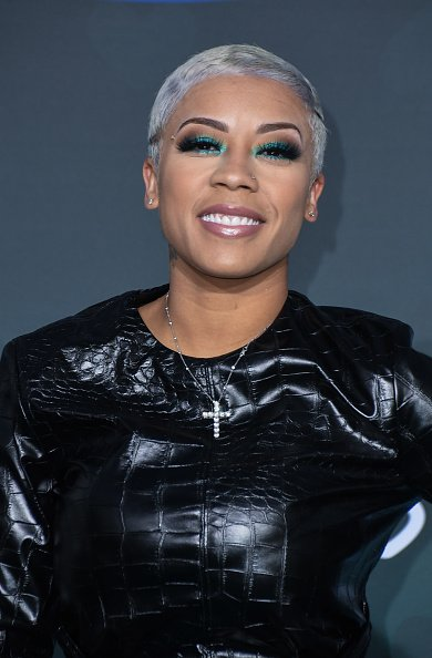Keyshia Cole at the 2019 Soul Train Awards in Las Vegas in November 2019.  Photo: Getty Images